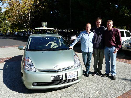 GetRobo Google car team